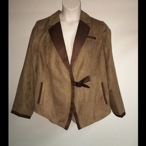 Mynt 1792 Blazer Jacket Womens Plus Size 2X 18/20